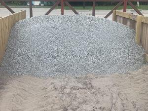 image of black star gravel bulk material